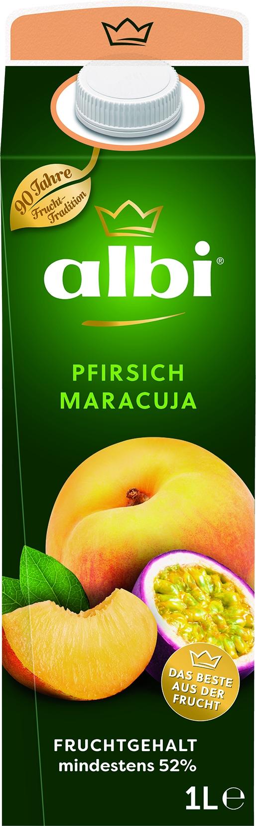 Pfirsich-Maracuja Nektar