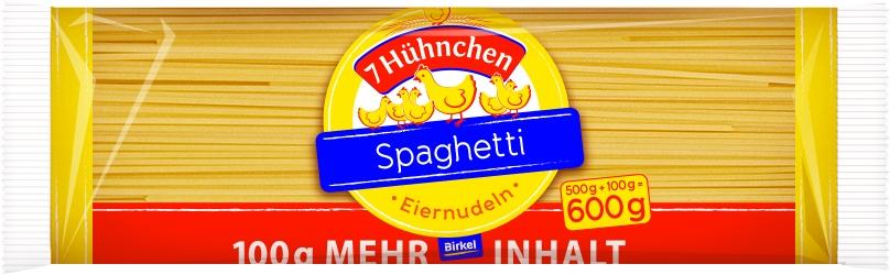 7 Huehnchen Spaghetti