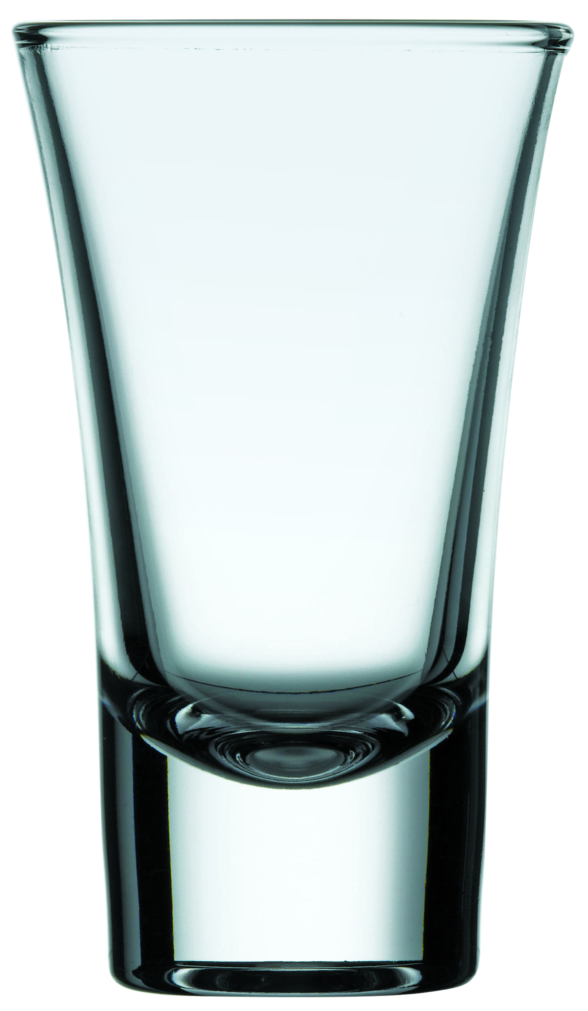 Schnapsglas 0,06L, geeicht 0,02/0,04L