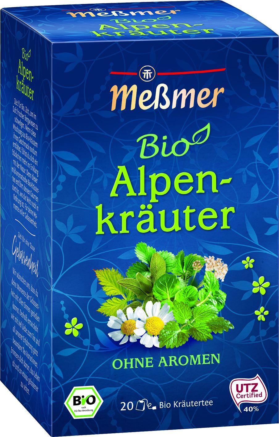 Bio Tee Alpenkräuter 20 St.