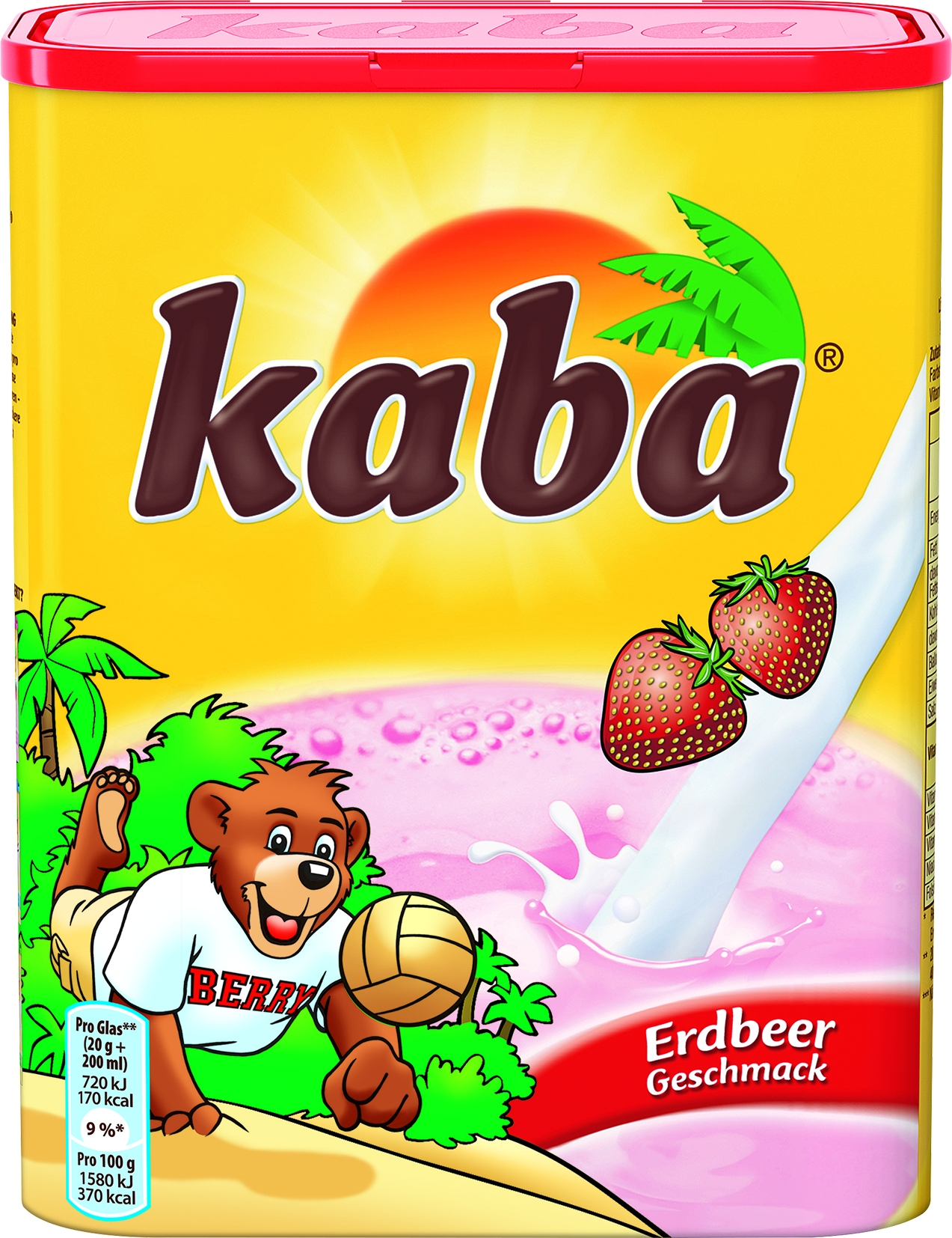 Getränkepulver Erdbeergeschmack
