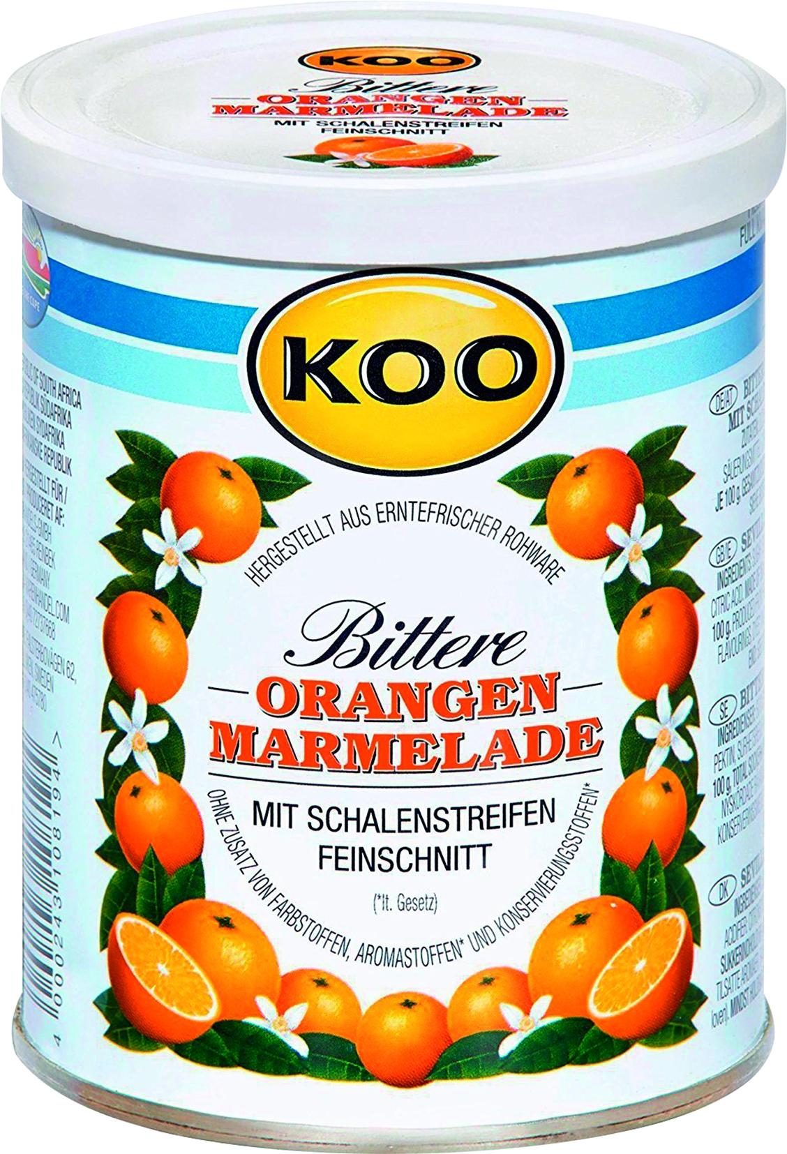 Bittere Orangemarmelade