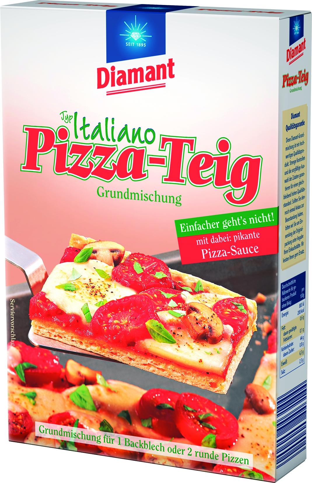 Pizzateig/Sauce
