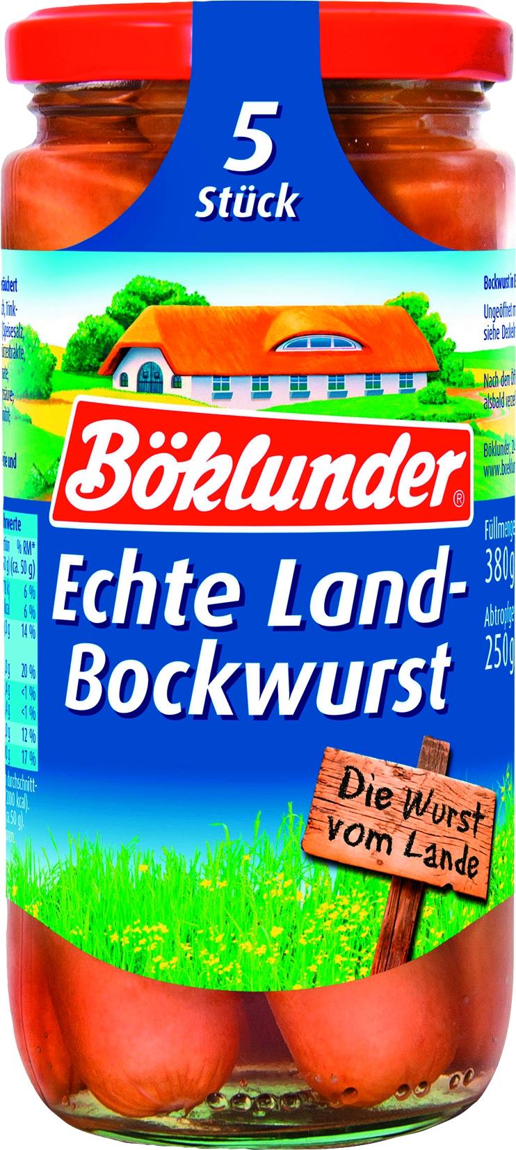 Landbockwurst in Eigenhaut 5 St= 250 gr