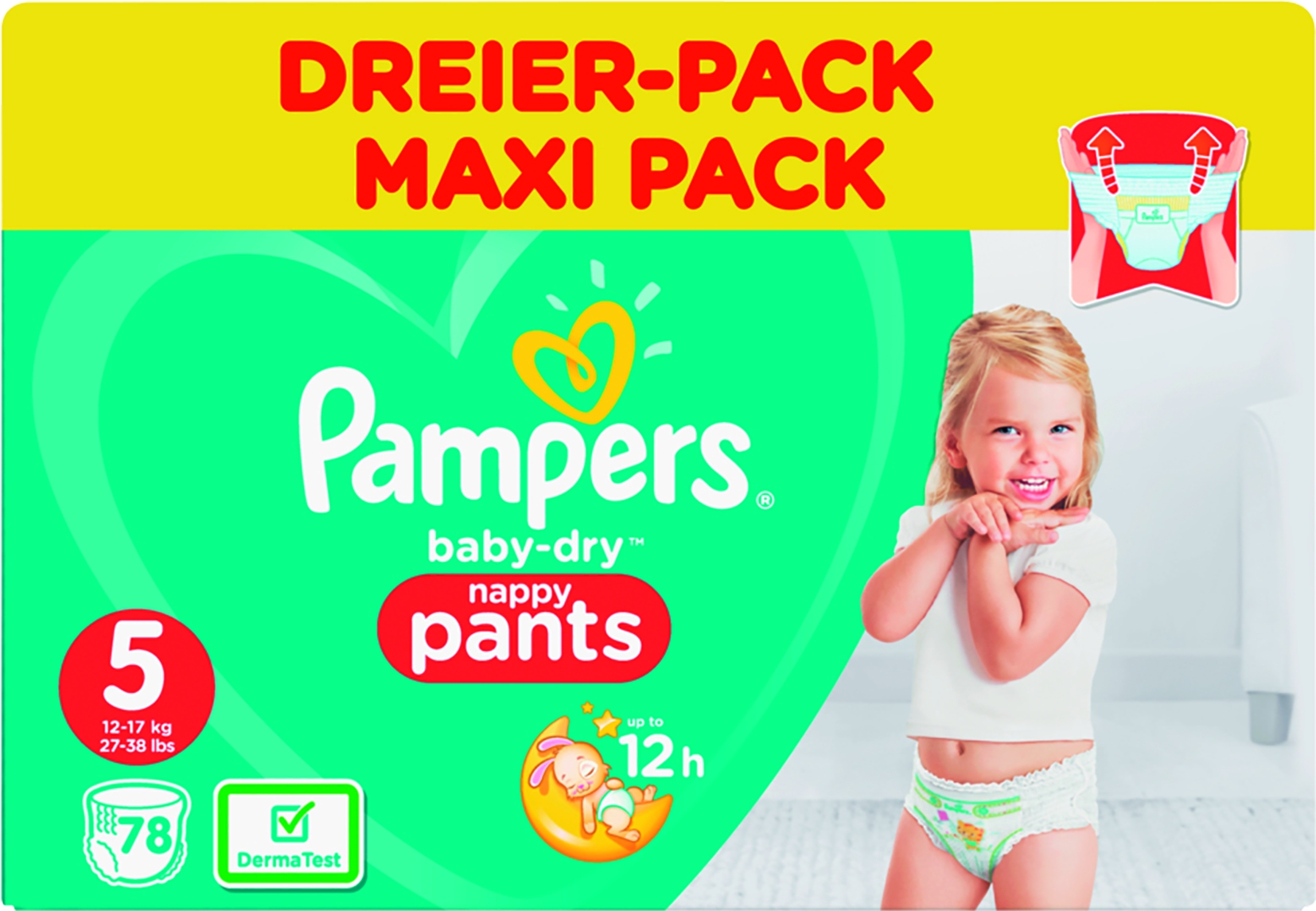 Baby Dry Pants Junior 5 78er