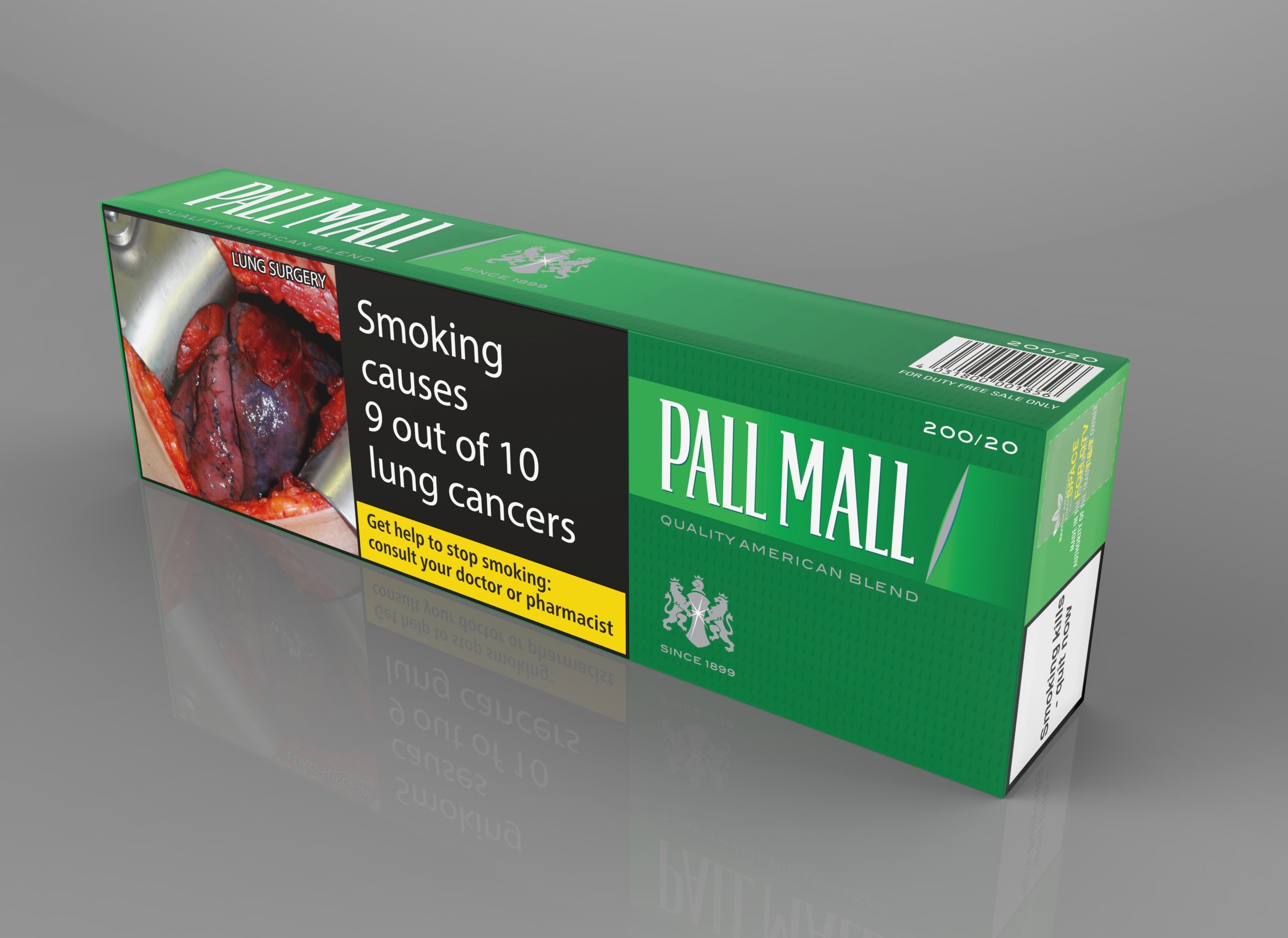 Pall Mall Green Menthol 200er