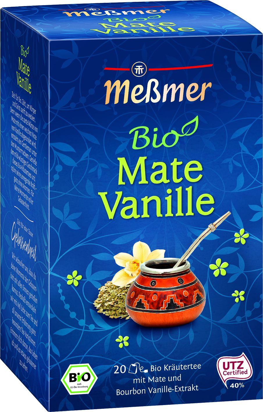 Bio Tee Mate Vanille 20 St.