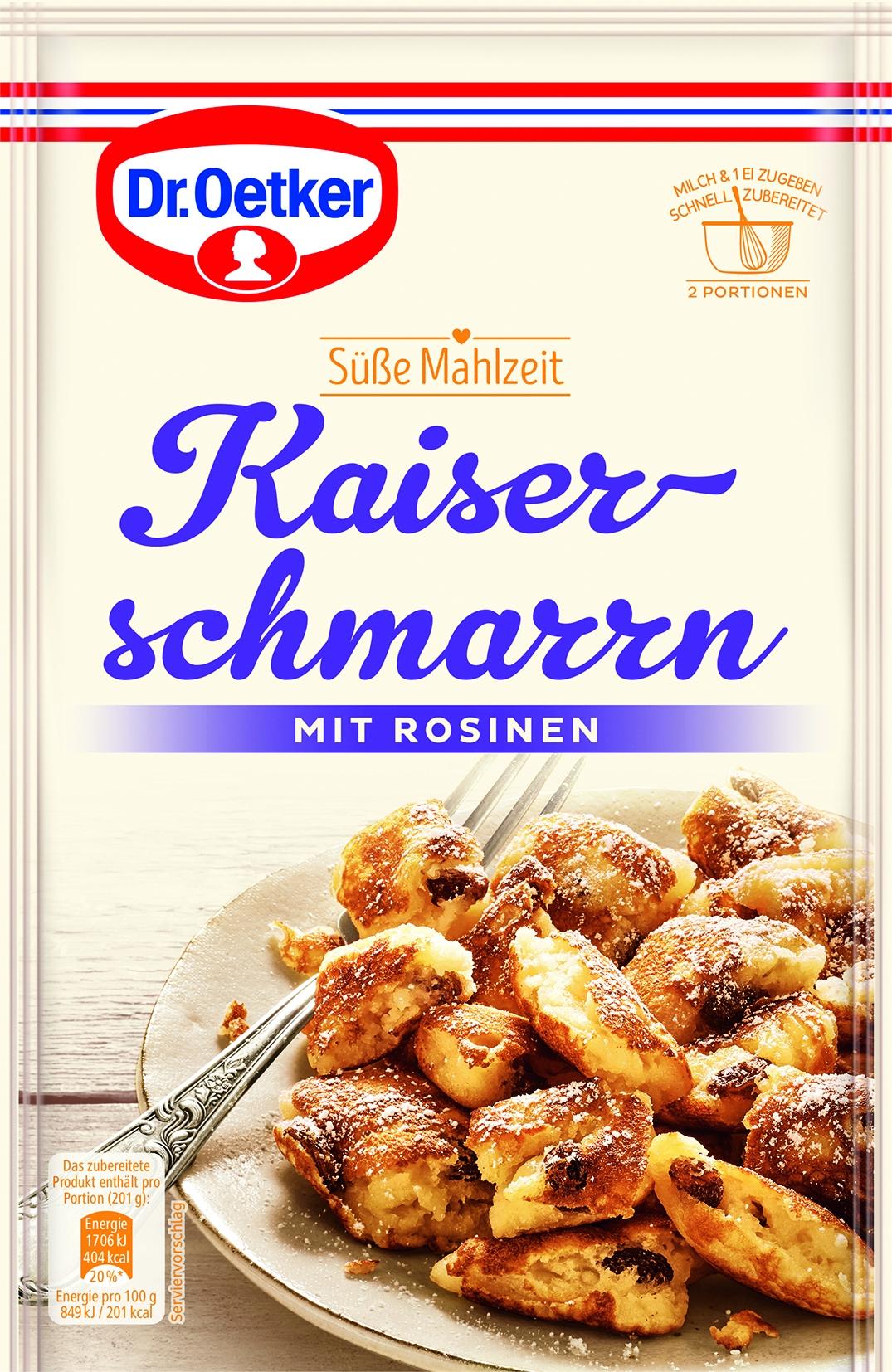 Süße Mahlzeit Kaiserschmarn