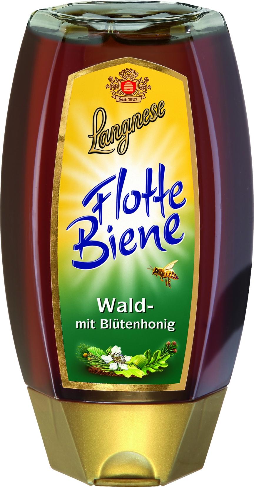 Flotte Biene Waldhonig