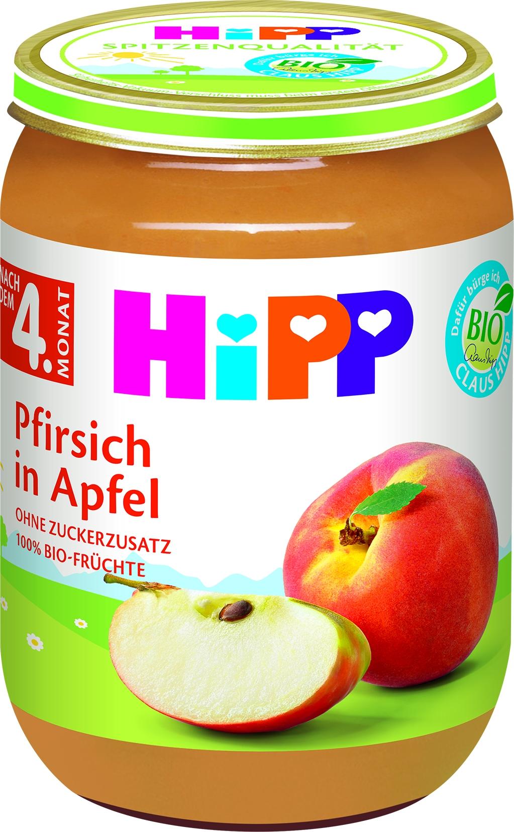 Bio 4340-01 Pfirsich/Apfel