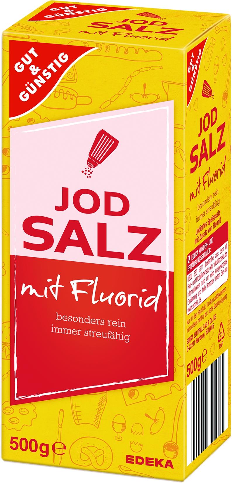 Jodsalz mit Flour