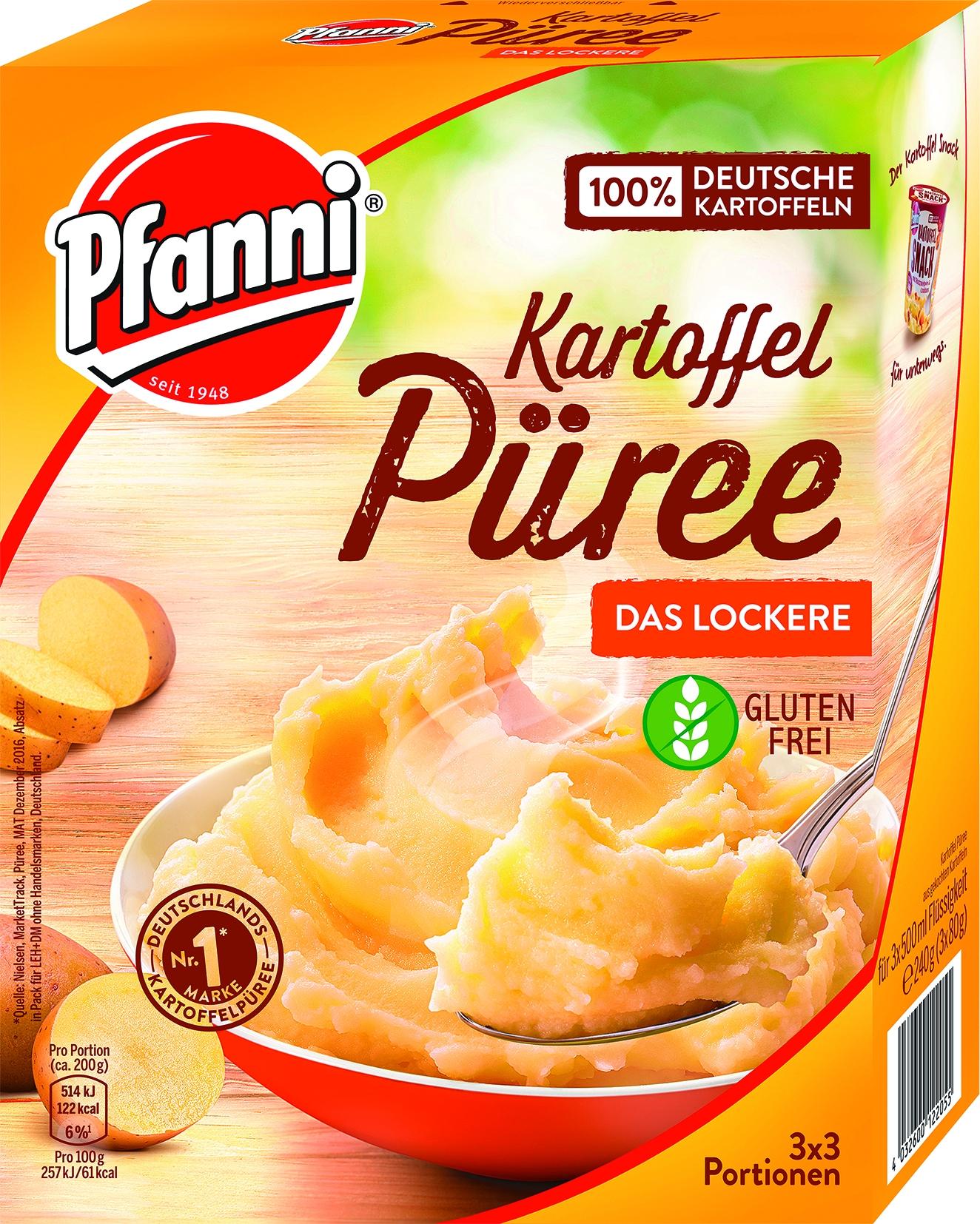 Lockeres Kartoffelpuree 3 x 3 Portionen