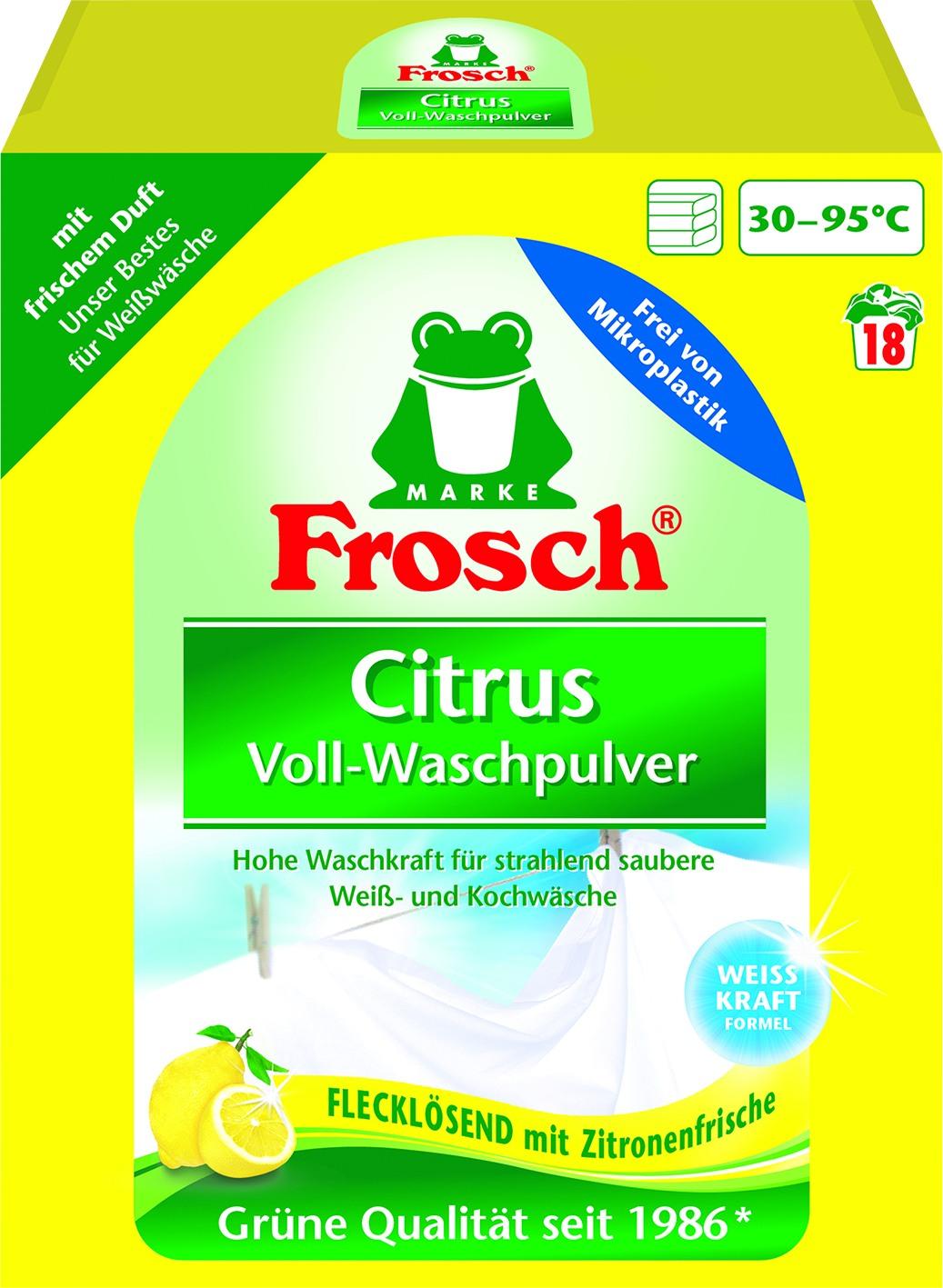 Vollwaschmittel Citrus 18WL
