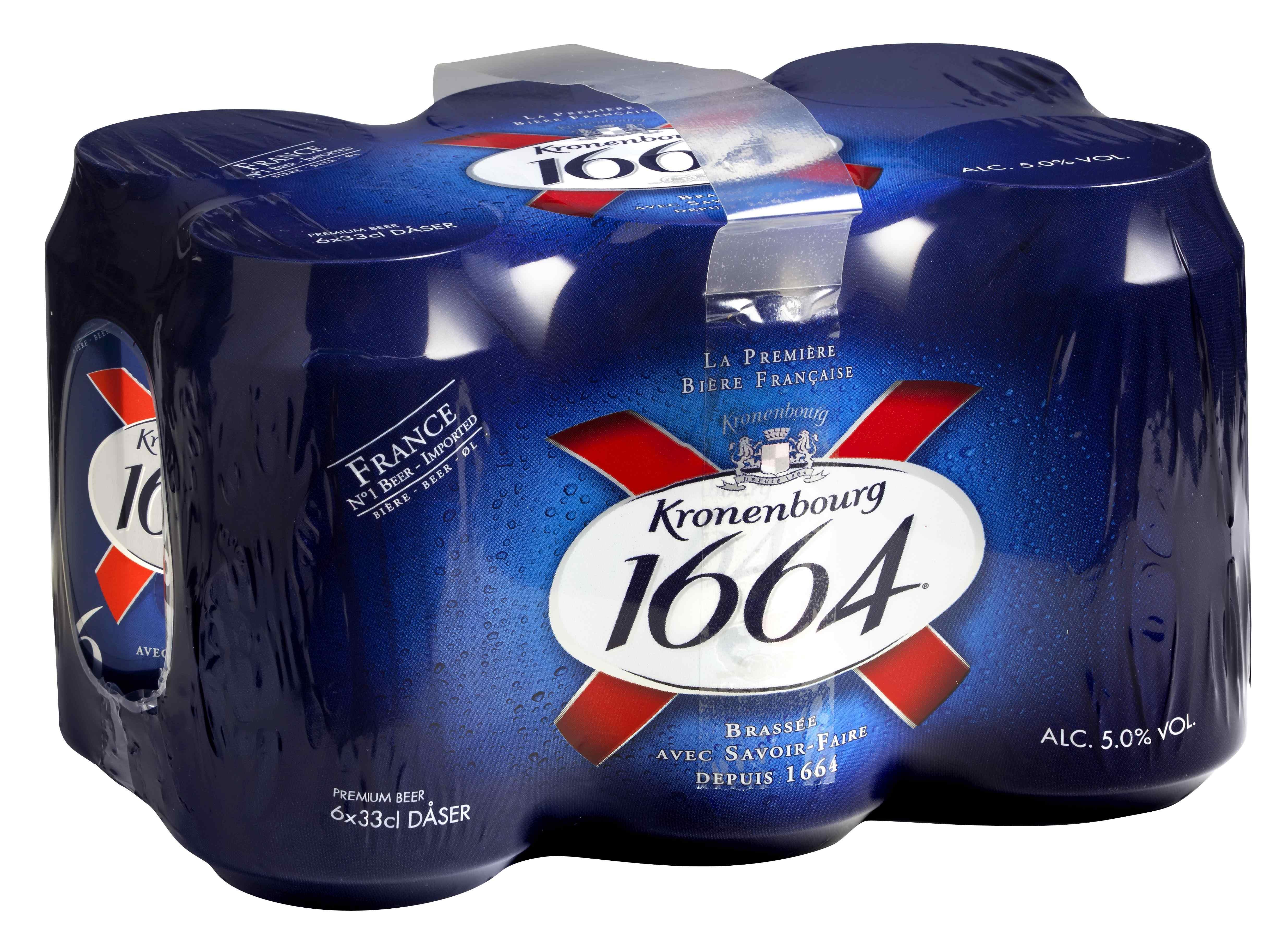 Kronenbourg Bier 24Ds x 0,33lt