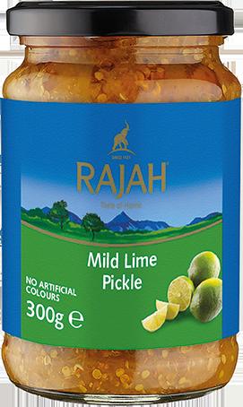 Lime Pickle/Limettengurke, mild